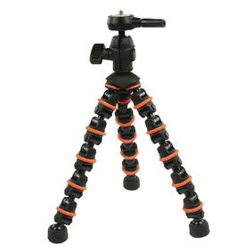 Flexibiln� Stativ 28.5 cm 1 kg �ern�/Oran�ov�