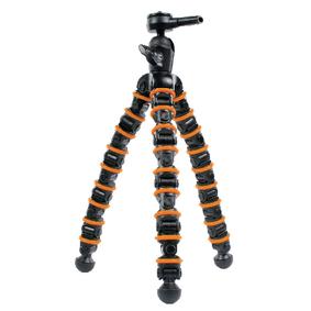 Flexibiln� Stativ 32.5 cm 2.5 kg �ern�/Oran�ov�