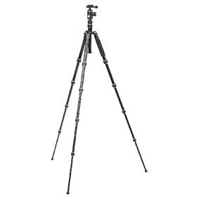 Premium Fotoapar�t / Kamera Stativ Kulov� Hlava 145 cm �ern�