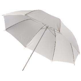 Deštník pro Foto Studio 100 cm Prùsvitná Bílá