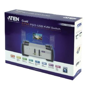 2-Port KVM Switch St��brn�