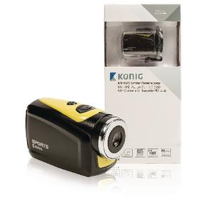 Akèní HD Kamera Vodotìsné Pouzdro Žlutá/Èerná