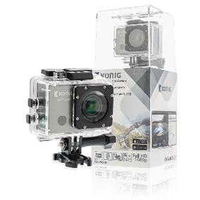 Akèní Full HD kamera 1080p Wi-Fi / GPS Èerná