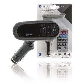 FM Audio Vysílaè Bluetooth 3.5 mm Èerná