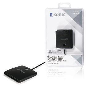 Èteèka Pamì�ových Karet Smart Card USB 2.0 Èerná