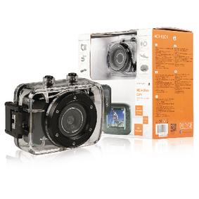 Akèní HD Kamera Vodotìsné Pouzdro Èerná