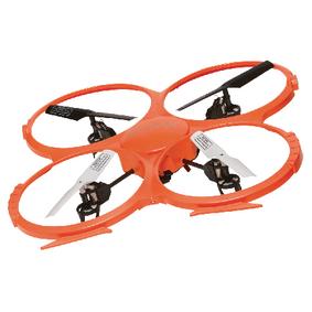R/C Dron Gyro Uvnitø / Video 2,4GHz Ovladaè Oranžová/Èerná