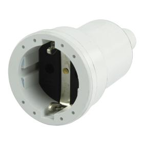 Nap�jec� konektor Schuko / Typ F (CEE 7/7) 16 A B�l�