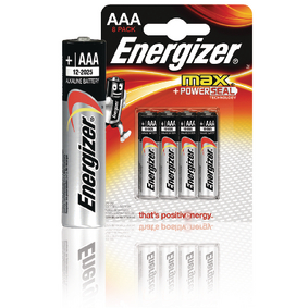Alkalická Baterie AAA 1.5 V Max 8-Blistr