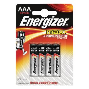 Alkalick� Baterie AAA 1.5 V Max 8-Blistr