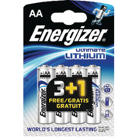 Lithiová Baterie AA 1.5 V Ultimate 4-Propagaèní Blistr