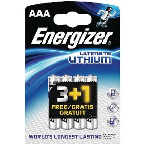 Lithiová Baterie AAA 1.5 V Ultimate 4-Propagaèní Blistr