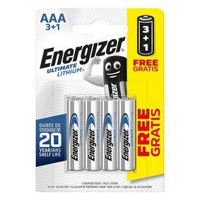 Lithiov� Baterie AAA 1.5 V Ultimate 4-Propaga�n� Blistr