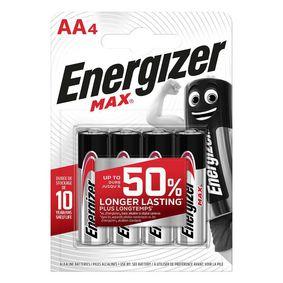 Alkalick� Baterie AA 1.5 V Max 4-Blistr - zv�t�it obr�zek