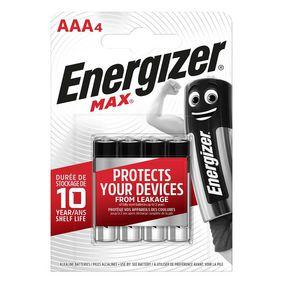 Alkalick� Baterie AAA 1.5 V Max 4-Blistr