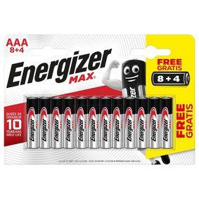 Alkalická Baterie AAA 1.5 V Max 12-Blistr