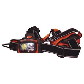 Èelovka 4 LED Oranžová / Èerná