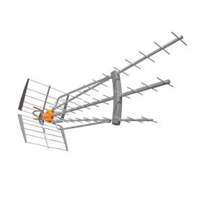 DVB-T/T2 Venkovní anténa 47 dB UHF - zvìtšit obrázek