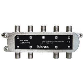 CATV Rozboèovaè 11 dB / 5-1000 MHz - 8 Výstupy