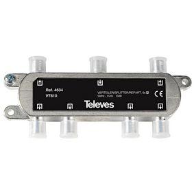 CATV Rozboèovaè 10 dB / 5-1000 MHz - 6 Výstupy