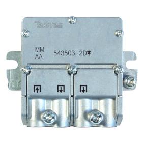 Satelitní Rozboèovaè F-konektor 4.4 dB / 5-2400 MHz - 2 Výstupy - zvìtšit obrázek