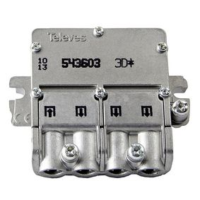 Satelitní Rozboèovaè F-konektor 8.5 dB / 5-2400 MHz - 3 Výstupy