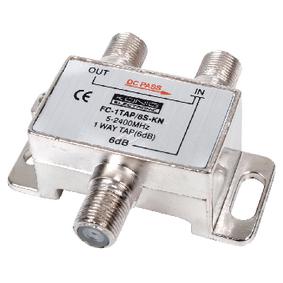 Satelitní Rozboèovaè Satelitní F Rozdìlovaè 6 dB / 5-2400 MHz - 1 Výstup