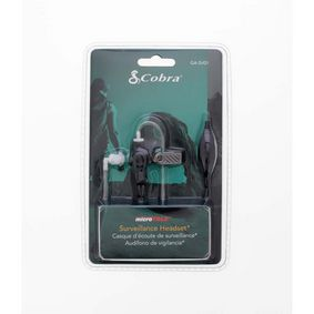 Dohled Headset 2.5 mm Èerná