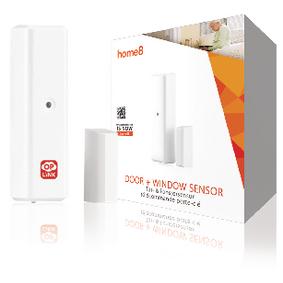 Inteligentní Dveøní/Okenní Senzor 433 Mhz Bílá