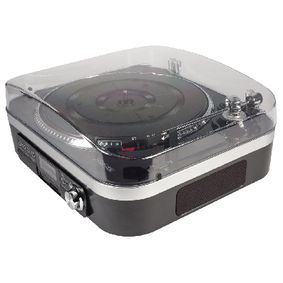Gramofon SD / LP / Radio 1.6 W Èerná
