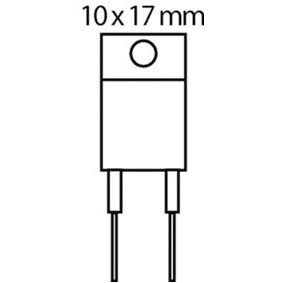 Tranzistor N-FET 600 VDC 10 A 35W 0.75R