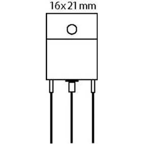 Tranzistor SI-N 100 VDC 25 A 125W 3MHz