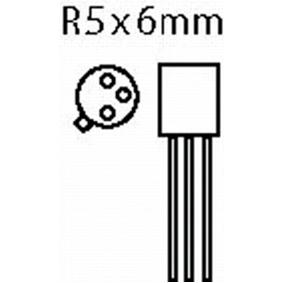 Tranzistor SI-N 40 VDC 0.8 A 0.5W 300MHz