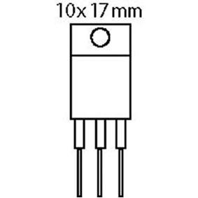 Tyristor 600 VDC 8 A 35/70mA
