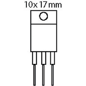 Tranzistor N-FET 60 VDC 60 A 110W 0.016E
