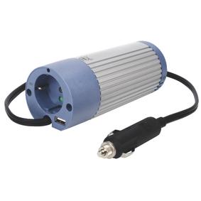 Mìniè Modifikovaná sinusoida 12 VDC - AC 230 V 100 W F (CEE 7/3) / USB
