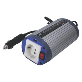 Mìniè s Modifikovanou Sinusoidou 12 VDC - AC 230 V 150 W F (CEE 7/3) / USB