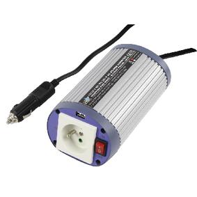 Mìniè s Modifikovanou Sinusoidou 12 VDC - AC 230 V 150 W CZ / USB