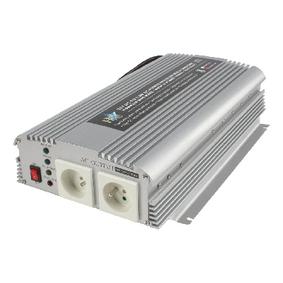 Mìniè Modifikovaná sinusoida 24 VDC - AC 230 V 1000 W F (CEE 7/3)