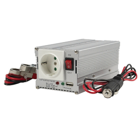 Mìniè s Modifikovanou Sinusoidou 12 VDC - AC 230 V 300 W F (CEE 7/3) / USB