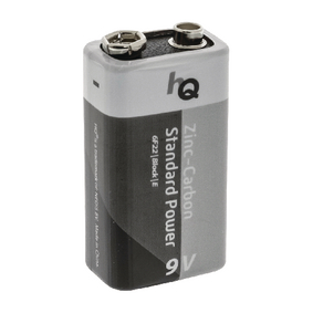 Zinko-Uhlíková Baterie 9V 9 V 1-Blistr