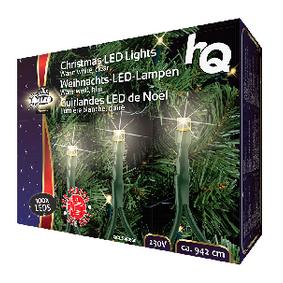 V�no�n� Osv�tlen� 100 LED 2.1 W 9420 mm Tepl� B�l� Interi�r