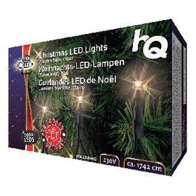 V�no�n� Osv�tlen� 200 LED 4 W 17420 mm Tepl� B�l� Interi�r