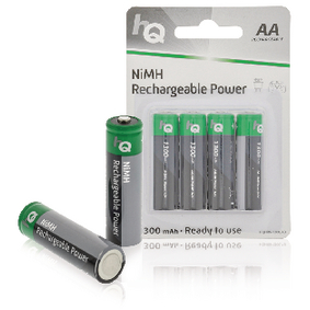 Dobíjecí NiMh Baterie AA 1.2 V 1300 mAh 4-Blistr
