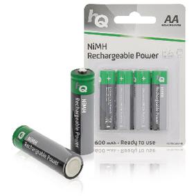 Dobíjecí NiMh Baterie AA 1.2 V 2600 mAh 4-Blistr