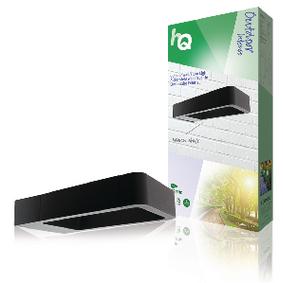 LED Venkovní Nástìnné Svítidlo 6 W 120 lm Èerná