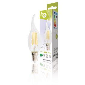Žárovka LED Vintage Svíèka Zahnutá 4.8 W 470 lm 2700 K