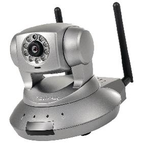 IP kamera s N�klonem a Nato�en�m 1280x720 Tmav� �ed�