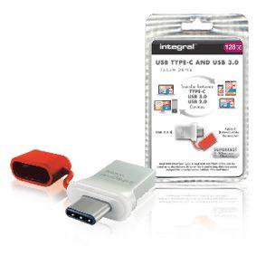 Flash Disk USB 3.0 128 GB Hlin�k/�erven�