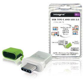 Flash Disk USB 3.0 32 GB Hlin�k/Zelen�